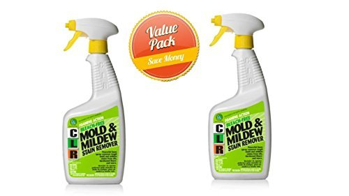 CLR PB-CMM-6 Mold and Mildew Stain Remover, 32 oz. Spray Bottle(Pack of 2) (Bleach Remover Mildew Without)