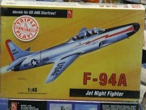 F-94A Starfire – 1/48 Scale -USAF Starfire Jet Night Fighter