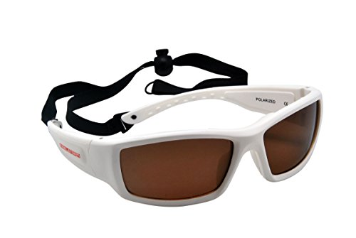 e7d76c7b4cd Maelstorm Horizon Glossy White Watersport Sunglasses Kitesurfing Surfing Jet  Skiing Boating Paddling Fishing Canoeing Kayaking Windsurfing