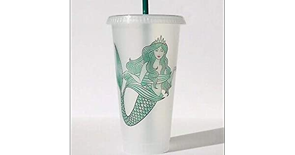Amazon.com: Starbucks – Taza de frío de plástico ...