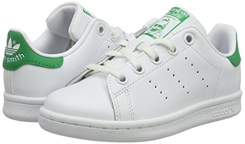 green Multicolore Ftwwht ftwwht Stan C Bambini white Da Basse Adidas Scarpe Ginnastica Unisex Smith Owczn4qCn6