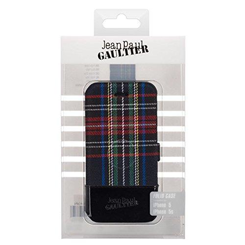 "BigBen JP297758 Klapp-Etui ""Jean Paul Gaultier London"" für Apple iPhone 5/5S in schwarz"