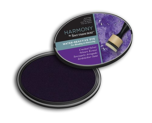 Spectrum Noir SN-IP-HWR-CVEL Harmony (Crushed Velvet) Water Reactive Ink Pad, Violet ()