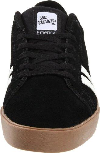 Emerica THE LEO 6102000065 - Zapatillas de skate de ante para hombre Negro