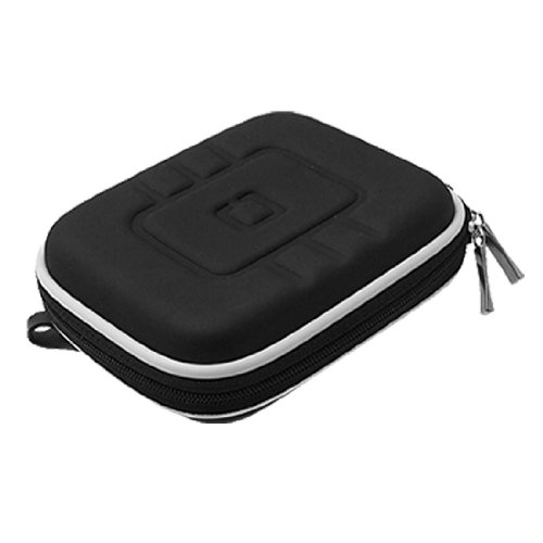 uxcell Global Positioning System GPS Black Carrying Case Bag