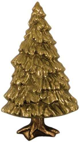 Michael Healy Designs MH2321 Fir Tree Door Knocker, Brass/Bronze by Michael Healy Designs by Michael Healy Designs