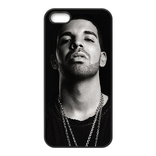 Drake 003 2 iPhone 5 5S Handyfall hülle schwarz Handy Fallabdeckung EOKXLLNCD23326