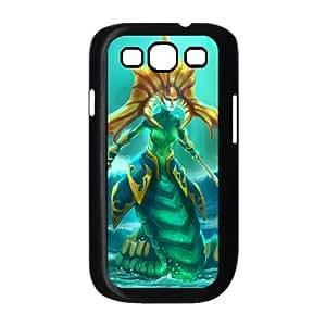 Samsung Galaxy S3 9300 Cell Phone Case Black Defense Of The Ancients Dota 2 NAGA SIREN Wzwyv