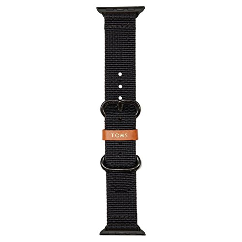 TOMS Apple Watch Band (Black, 38mm)