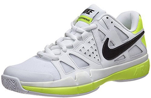 Nike Mens Air Vapor Advantage Tennis Shoe  11 5 D M  Us  White Volt Black