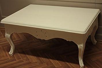Barock Couchtisch Tisch Antik Stil Rokoko weiß AlTa0102We: Amazon ...