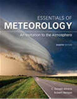 Meteorology Today: An Introduction to Weather, Climate, and