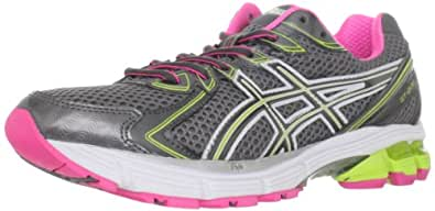 ASICS Women's GT 2170 Rubber Running Shoe,Titanium/Charcoal/Lime,9.5 M US