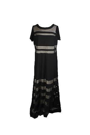 R M Richards Plus Size Black Sheer Illusion Gown W At Amazon