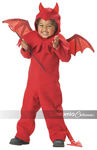 [Lil' Spitfire Boy's Costume, Medium, One Color] (Kids Halloween Devil Costumes)
