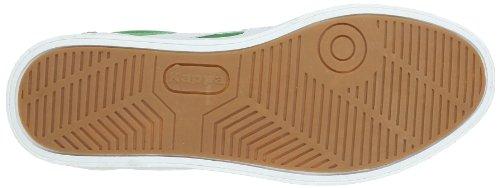 Kappa KOREA LOW 241637 Unisex-Erwachsene Sneaker Mehrfarbig (3010 GREEN/WHITE 3010 GREEN/WHITE)