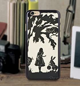Alice in Wonderland Personalized Black Hard PC Case Cover for iphone 6 4.7