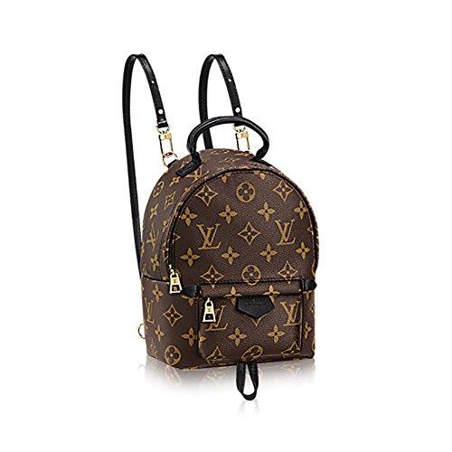 Authentic Louis Vuitton Monogram Canvas Palm Springs Backpack Mini Handbag Article: M41562 Made in - Louis Mini Vuitton