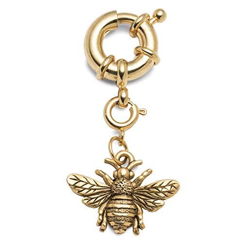 Bikini Charm Gold Bee Accessory Natasha ()