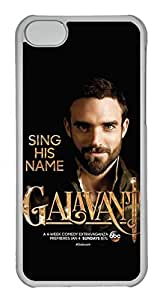 iPhone 5C Case, 5C Case - Scratch-Resistant Clear Hard Case Cover for iPhone 5C Galavant Poster Perfect Fit Crystal Clear Hard Back Case Bumper for iPhone 5C