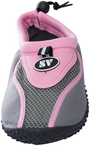 Athletic Slip Bay The Aqua Womens Pink Water Socks Shoes 2907 On qSZIf