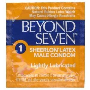 OKAMOTO Beyond Seven Latex Condoms - 36 condoms Beyond Seven Latex Condoms