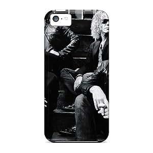 MMZ DIY PHONE CASEJacquieWasylnuk ipod touch 5 Protector Hard Phone Case Custom Trendy Bon Jovi Pictures [VrF4338XCjF]
