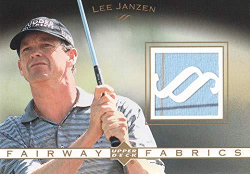 (2003 Upper Deck Golf Fairway Fabrics #LJ Lee Janzen)
