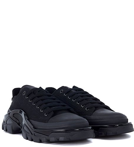 Sneaker Adidas x RAF Simons Detroit in Canvas Nero Nero La Mejor Venta En Línea Barata OGONM