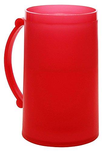 Red Frosty Freezer Mug