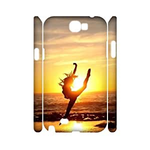kimcase Custom Ballet 3D Case for Samsung Galaxy Note2 N7100