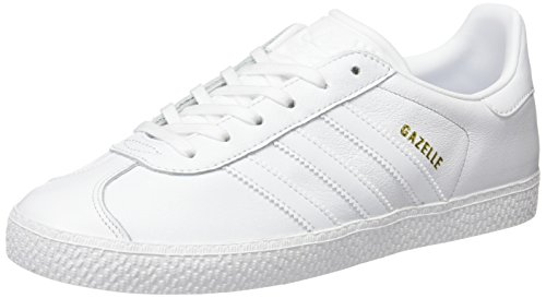 White Gazelle Mixte White Basses Blanc Enfant Baskets White Footwear Footwear Footwear adidas W1qd60cKn1