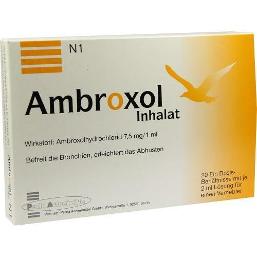 AMBROXOL INHALAT 20X2ml Inhalationslösung PZN:3560550
