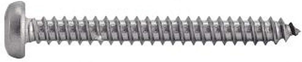 200X Blechschrauben Linsenkopf Innensechsrund 4.8x25 Edelstahl A4 ISO14585