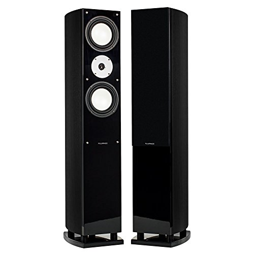 Fluance XL7F High Performance Three-way Floorstanding Loudspeakers (Black Ash)