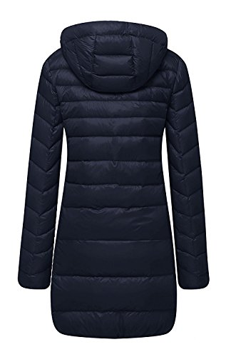 spyman Warm Lightweight Packable Hooded Down Coat (Loft 9 Drawer Dresser)