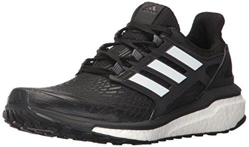 adidas Women's Energy Boost w Running Shoe, Black/White/White, 5.5 Medium US
