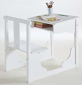 Demeyere 140638 - Escritorio infantil, color blanco