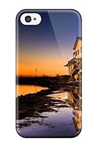 Awesome Scenic Flip Case With Fashion Design For Iphone 4/4s by lolosakes