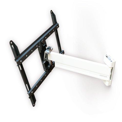 PureMounts TV Wandhalterung PM-XFlat-25XL - ultra flach, vollbeweglich, schwenkbar, neigbar für Fernseher bis 132cm / 52