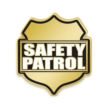Amazon com : Safety Patrol Lapel Pins - Safety Enamel