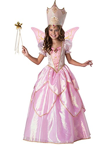 [InCharacter Costumes Fairy Godmother Costume, One Color, Size 8] (Child Fairy Godmother Costume)