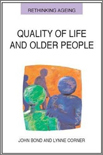 Book Quality of life and older people