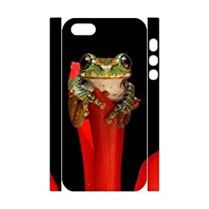 Cool Painting Frog Customized 3D Cover Case for Iphone 5,5S,custom phone case case532003