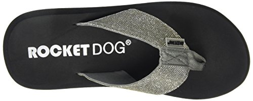 Rocket Dog Spotlight - Flip-flop Mujer Plateado (Silver Odyssey)