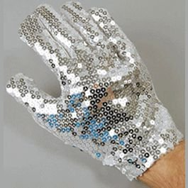 blinkee Non Light Up Michael Jackson Right Hand Sequin Glove by