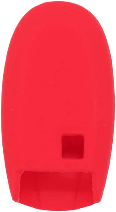 BROVACS Silicone Cover Protector Case Skin Jacket fit for SUZUKI 2 Button Remote Key Fob CV4543 Deep Purple