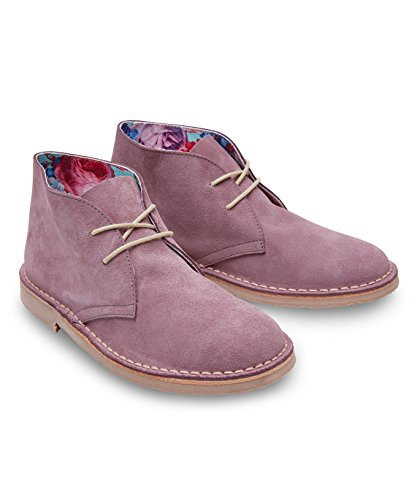 Joe Browns Women's Oasis Suede Ankle Boots Purple (Lilac) ygnwRLbEMQ