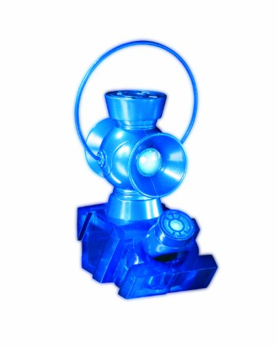 DC Direct Blackest Night: Blue Lantern 1:4 Scale Power Battery and Ring Prop Replica Set