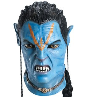 Jake Sully Mask Costume Mask]()